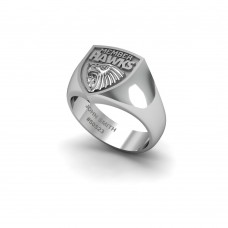 Hawthorn Hawks - 9K White Gold & Diamond Members Ring