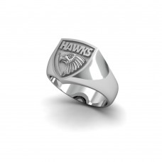 Hawthorn Hawks - Sterling Silver Team Ring