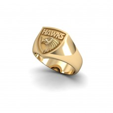 Hawthorn Hawks - 9K Yellow Gold Team Ring