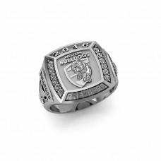 Western Bulldogs - 9K White Gold & Diamond 2016 Premiers Ring