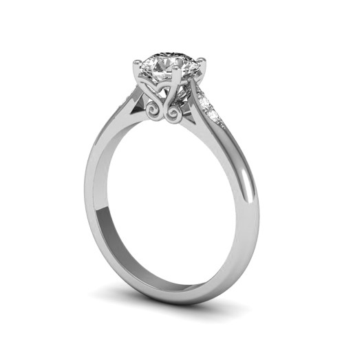 RENEE 18K White Gold