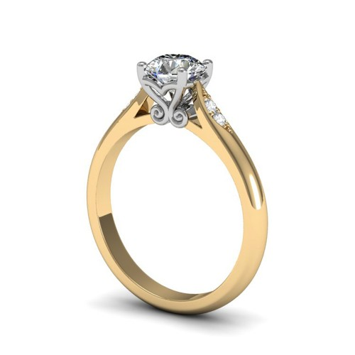 RENEE 18K Yellow Gold