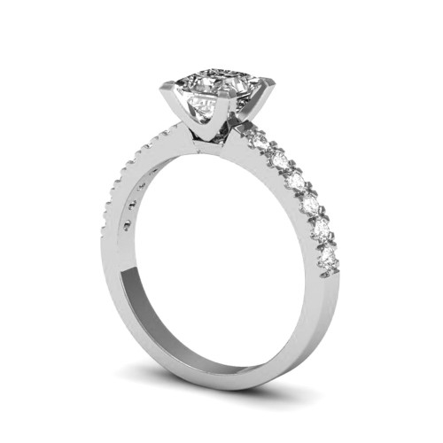 HARPER 18K White Gold