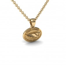 West Coast Eagles - 9K Yellow Gold Team Pendant